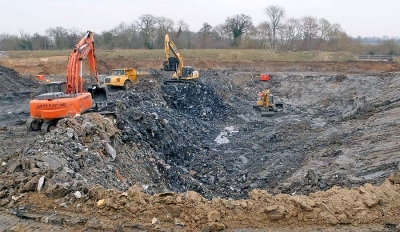 Brownfield development and contaminated land